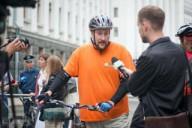 Велосипедисты требуют изменения ПДД