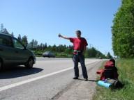 Харьковского автостопщика ограбили в Барнауле