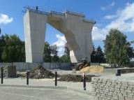 Первая зацепка появилась на новом  Харьковском скалодроме