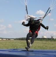 Харьковчане провели сразу три парашютных соревнования
