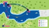Соревнование по триатлону в Балаклаве