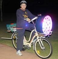 Самая  яркая велосипедная фара