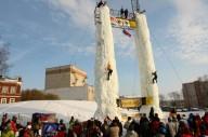 В Украине пройдет первый чемпионат по ледолазанию