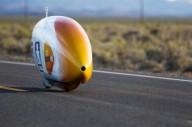 Мировой рекорд скорости на веломобиле