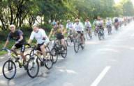 В Симферополе проведут новогодний велопробег
