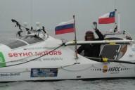 Стартовал заплыв Конюхова через Тихий океан