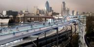 Проект велодорожек для Лондона над жд путям