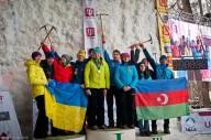 На ЧЕ по ледолазанию украинцы вторые