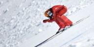 Рекорд скорости в спуске на лыжах