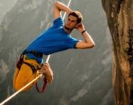 Установлен мировой рекорд в хайлайне, 142 метра