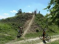 Любительские велогонки по маунтинбайку Пуща весенняя