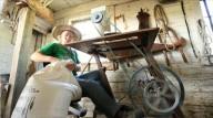 Рабочий стол с педальным приводом