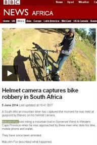 Ограбление байкера на камеру
