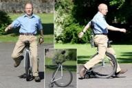 Одноколесный велосипед без педалей