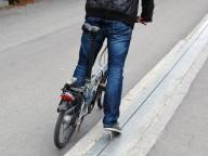Необычный подъемник для велосипедистов в Норвегии