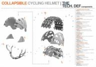 Раскладной шлем для велосипедиста