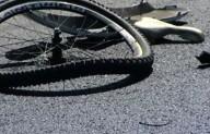Велосипедист отправил пешехода в больницу