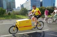 Велологистика может заменить грузовики