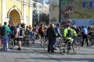 Флешмоб На велосипеде на работу