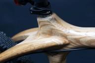Украинский велосипед из дерева