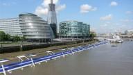 Велодорожка по реке Темза в Лондоне
