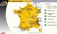 Представлен маршрут Тур де Франс 2015