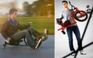 Трехколесный велосипед для экстрима