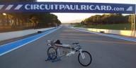 333 километра в час на реактивном велосипеде