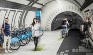 Подземные велодорожки в Лондоне