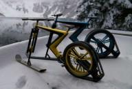 Велоснегоход Sno Bike