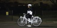 Светоотражающая краска для велосипедистов