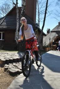 Прокатъ велосипедовъ в имении