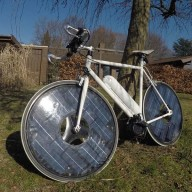 Solarbike — электровелосипед на солнечных батареях