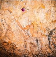 Новый мировой рекорд в скалолазании