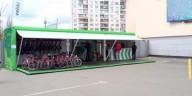 В Киеве открывают сеть бесплатных велопаркингов