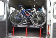 Машину с 50 велосипедами задержали работники ГАИ