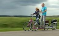 Гибрид велосипеда и беговой дорожки