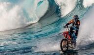 Серфинг на мотоцикле. Грани возможного.