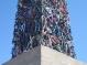В Калифорнии вознёсся столб сплющенных велосипедов