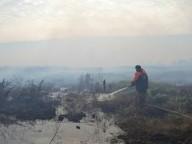 Под Киевом опять горит торф