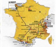 Презентован маршрут Тур де Франс 2016.