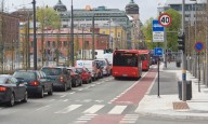 Запрет на автомобили в центре Осло.