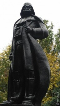 Эпатажная достопримечательность Одессы