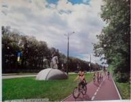 По следам эпопеи про велодорожку на Белгородке.