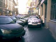 Запретить парковку на тротуарах