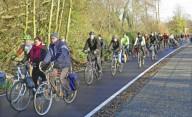 О велосипедной инфраструктуре Германии.