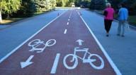 В Днепропетровске строят велодорожки