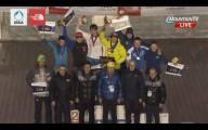 Завершился Кубок Мира по ледолазанию.