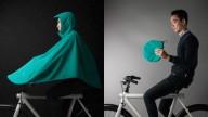 Boncho: плащ-палатка для велосипедистов