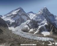 Потрясающая панорама Евереста
